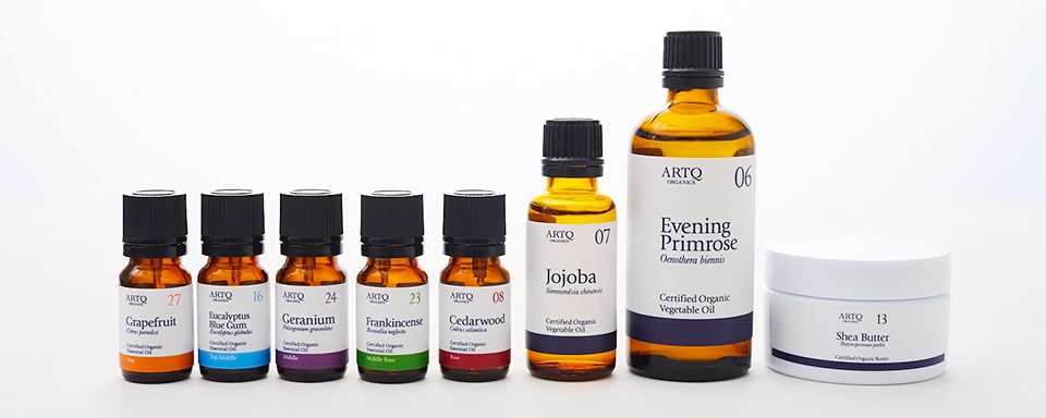 Aromatherapy - Product Line-Up